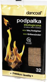 Dancoal Podpałka do grilla ekologiczna 26 + 6 kostek