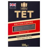 TET British Empire Herbata czarna liściasta 100 g