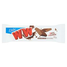 E. Wedel CzekoWafel Wafel z kremem orzechowym arachidowym w czekoladzie 38 g