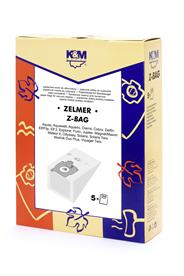 K&M Worki papierowe do odkurzaczy Zelmer Z-Bag 5 sztuki