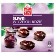 Fine Life Śliwki w czekoladzie 300 g