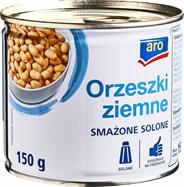 Aro Orzeszki ziemne smażone solone 150 g 12 sztuk