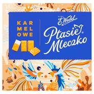 E. Wedel Karmellove! Ptasie Mleczko w czekoladzie białej karmelowej 380 g