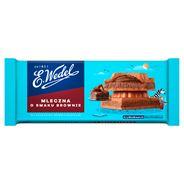 E. Wedel Czekolada mleczna o smaku brownie 290 g
