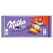 Milka Lu Czekolada mleczna z ciasteczkami 87 g