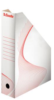 Esselte Pojemnik kartonowy na czasopisma biały A4