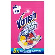 Vanish Color Protect Chusteczki zapobiegające farbowaniu 20 prań (10 sztuk)