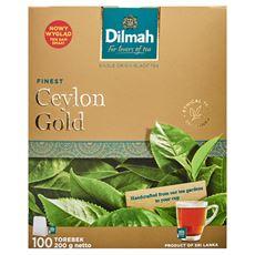 Dilmah Ceylon Gold Herbata czarna klasyczna 200 g (100 torebek)