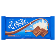 E. Wedel Czekolada mleczna 100 g 12 sztuk
