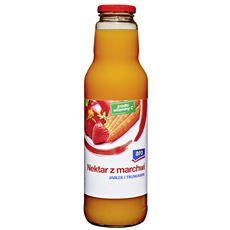Aro Nektar z marchwi jabłek i truskawek 750 ml 6 sztuk