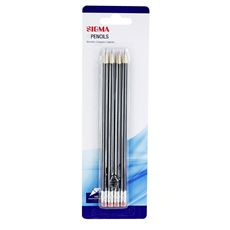 Sigma Ołówek z gumką HB 4 sztuki