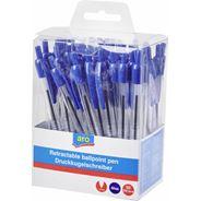 Aro Długopis automatyczny niebieski 50 sztuk