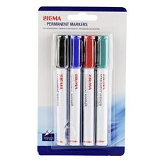 Sigma Marker permanentny mix 4 sztuki