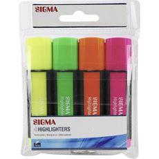 Sigma zakreślacze 4 kolory