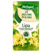Herbapol Zielnik Polski Lipa Herbatka ziołowa 30 g (20 torebek)
