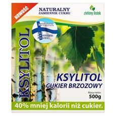 Zielony listek Ksylitol cukier brzozowy 500 g