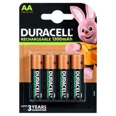 Akumulatorki Duracell AA pojemnosć 1300 mAh, 4 szt