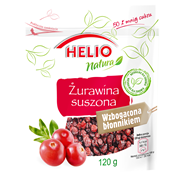 Helio Żurawina suszona 120g