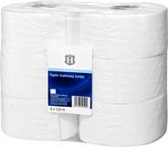 H-Line Papier toaletowy jumbo 2-warstowy 6 sztuk