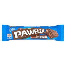 E. Wedel Pawełek Batonik mleczny czekolada 45 g 24 sztuki