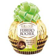 Ferrero Rocher Grand Chrupiący smakołyk i figurka z mlecznej czekolady 125 g