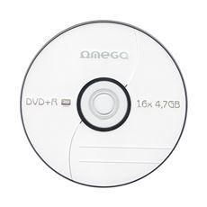 OMEGA DVD+R 4,7GB 16X koperta 10 sztuk