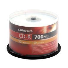 OMEGA CD-R 700MB 52X CAKE 1 opakowanie