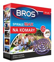 Bros MAX Spirale na komary 10 sztuk