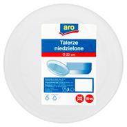 Aro Talerze niedzielone Ø 22 cm 100 sztuk