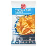 Fine Life Tortilla Chips Salted Trójkątne chipsy kukurydziane 200 g