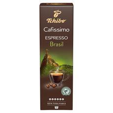 Tchibo Cafissimo Espresso Brasil Kawa palona mielona 80 g (10 kapsułek)