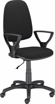 Nowy Styl Krzesło Vector czarne