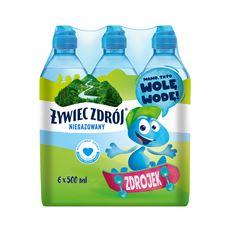 Żywiec Zdrój Niegazowany Woda źródlana 6 x 500 ml
