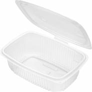Horeca Select Pojemniki z pokrywkami do żywności 800 ml 50 sztuk