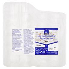 Horeca Select Pojemniki z pokrywkami do żywności 250 ml 50 sztuk