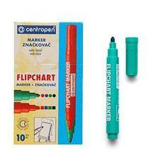 Centropen Marker do flipchartów zielony 8550