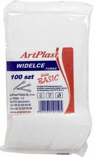 ArtPlast Basic Widelce 100 sztuk