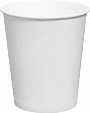 Aro Kubki do zimnych i gorących napojów białe 200 ml 50 sztuk