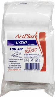 ArtPlast Basic Łyżki 100 sztuk