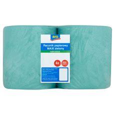 Aro Ręcznik papierowy Maxi zielony makulatura 4 sztuki