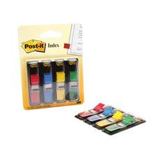 Post-it Zakładki indeksujące 4 kolory po 35 karteczek 12x43 mm