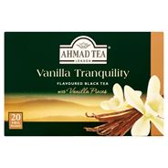 Ahmad Tea Herbata czarna o smaku waniliowym 40 g (20 torebek)