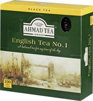 Ahmad Tea English Tea No. 1 Herbata czarna 100 kopert