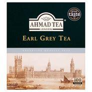 Ahmad Tea Earl Grey Herbata czarna 200 g (100 torebek z zawieszką)