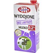 Mlekovita Wydojone Mleko bez laktozy 3,2% 1 l 12 sztuk