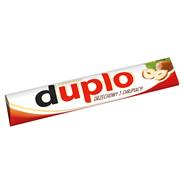 Duplo Wafel z orzechowym nadzieniem pokryty mleczną czekoladą 18,2 g