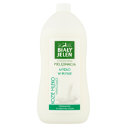Biały Jeleń Hipoalergiczne mydło w płynie nawilżające kozie mleko 1 l