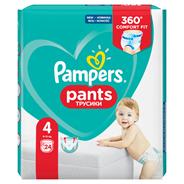 Pampers Pants, Rozmiar 4, 24 Pieluchomajtki