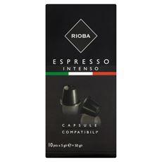 Rioba Espresso Intenso Kapsułki z kawą do ekspresów 50 g (10 sztuk)