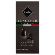 Rioba Espresso Forte Kapsułki z kawą do ekspresów 50 g (10 sztuk)